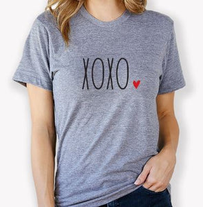 XOXO Design T-Shirt by The Home T