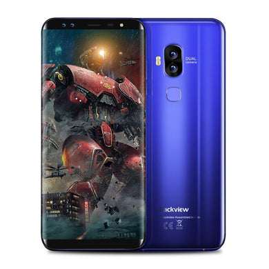Blackview S8 4G LTE Smartphone 5.7'' 18:9 Full Screen Octa Core 1.5GHz 4GB RAM 64GB ROM 4 Cameras Android 7.0 Mobile Phone - My Active Store