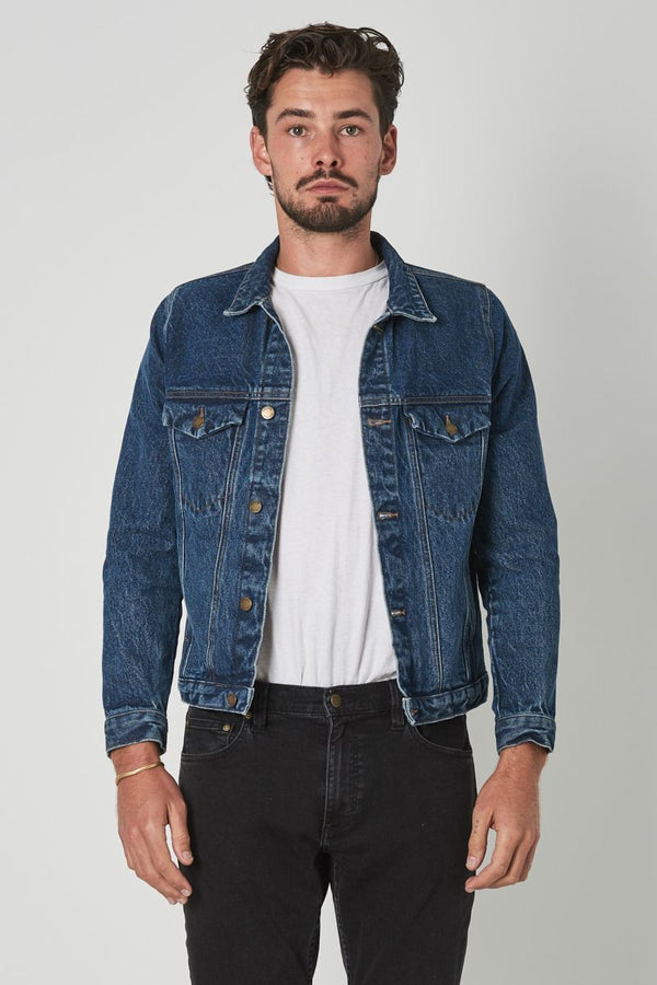 Denim Jacket Eco Heavy Blue