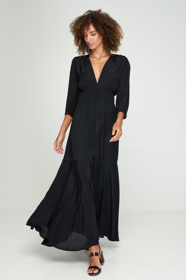Aria Maxi Dress Black
