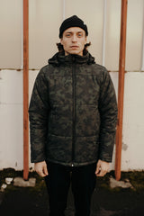 The Station Puffer Jacket Camo