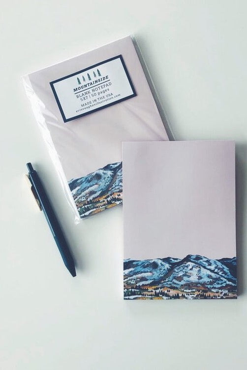 Mountainside Notepad