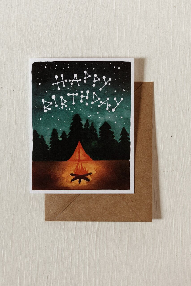 Constellation Birthday Card