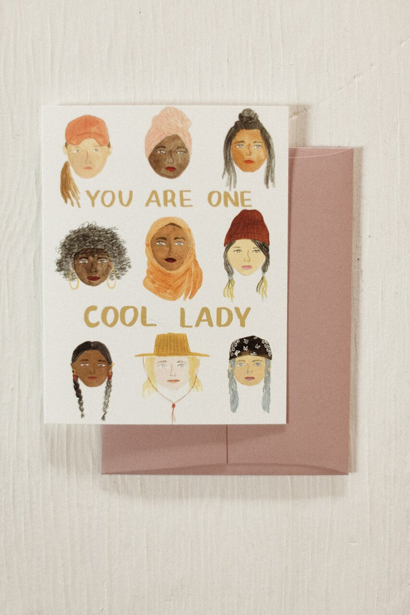 Cool Ladies Card