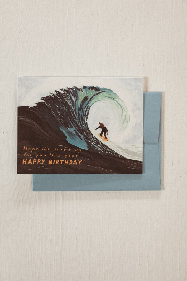 Surfs Up Birthday Card