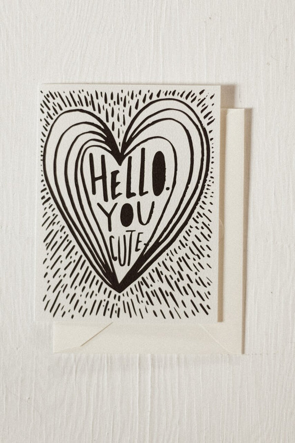 Hello You Cute Card