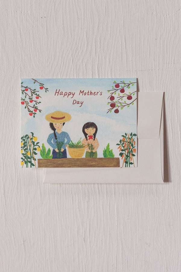 Mothers Day Gardening Card