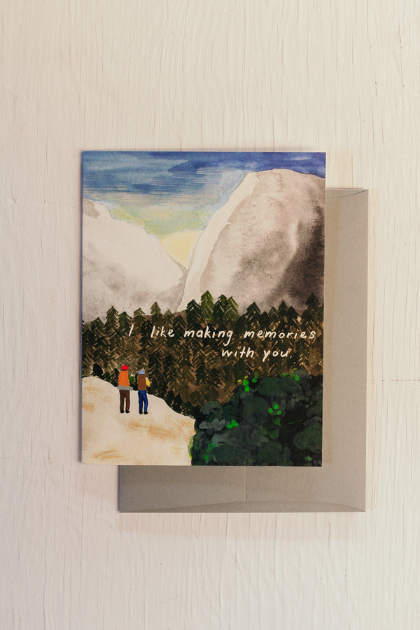 Sunrise Hike Card