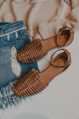 Bits N Pieces Sandals Cognac