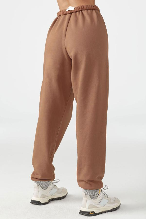 Oversized Jogger Terracotta French Terry