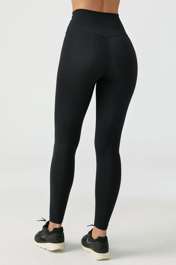 Second Skin Legging Sueded Onyx