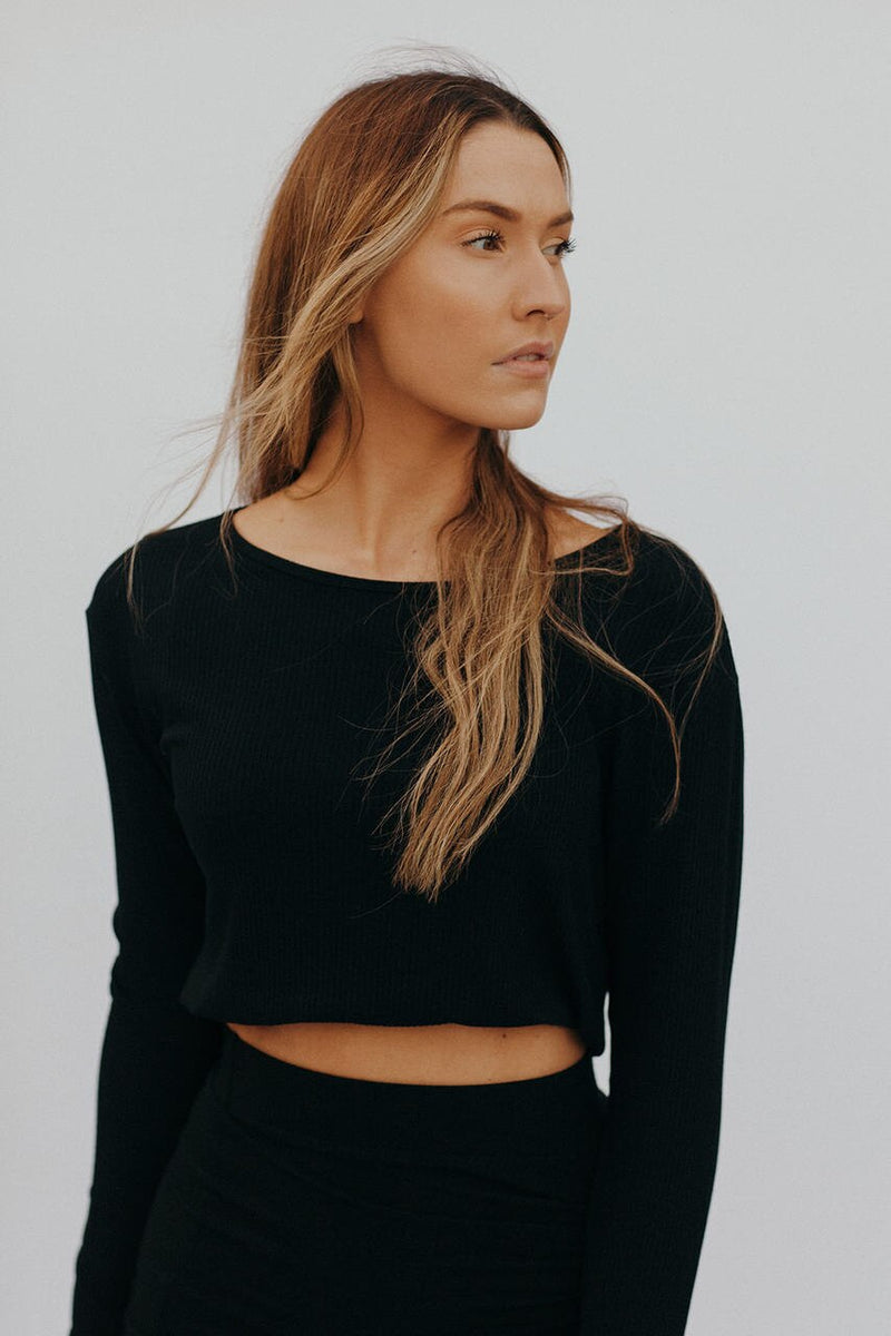 The Teya Top Black