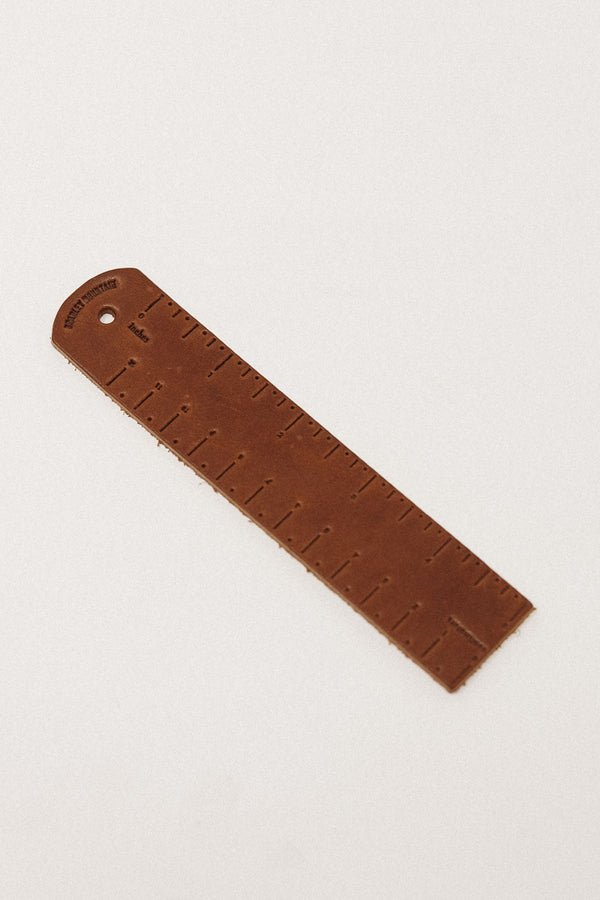 Leather Ruler