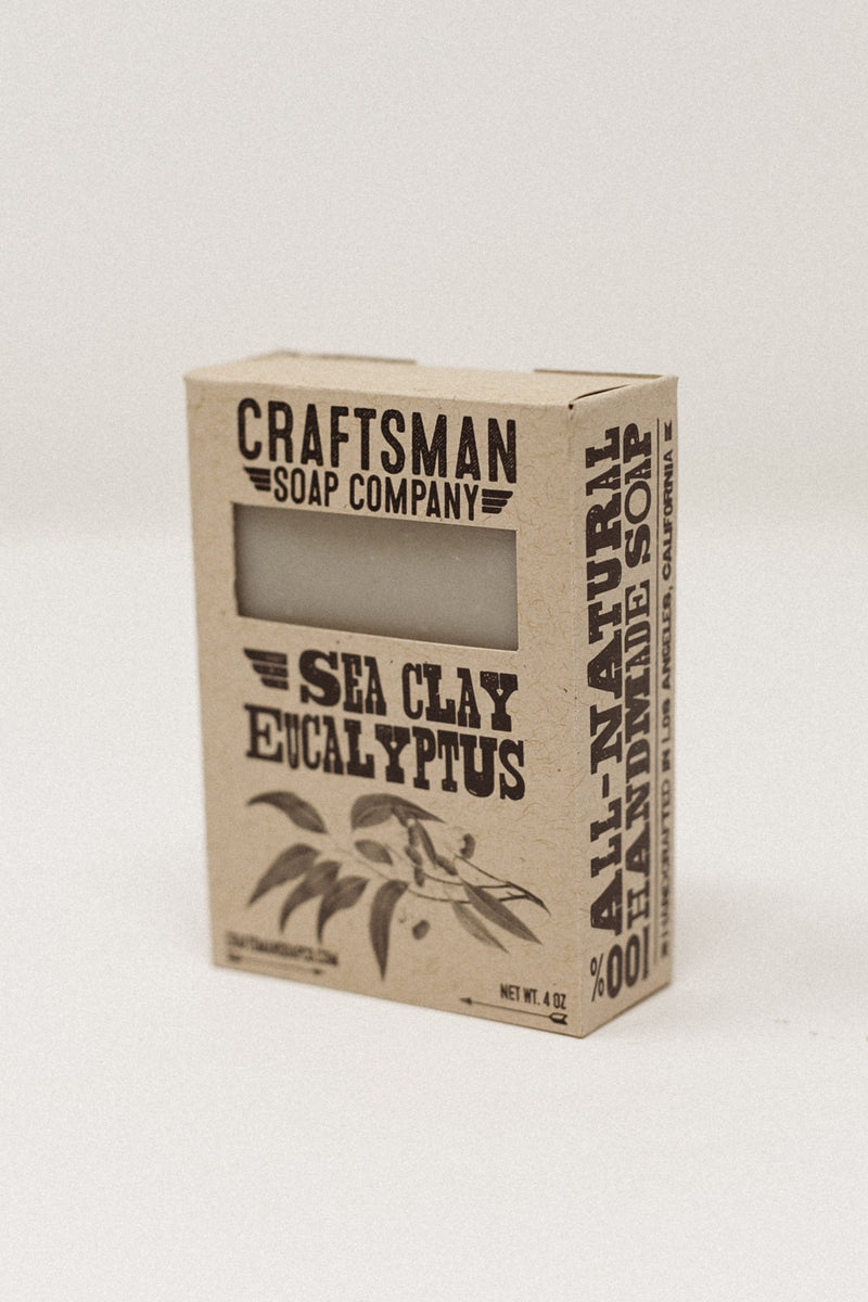 Sea Clay Eucalyptus Soap