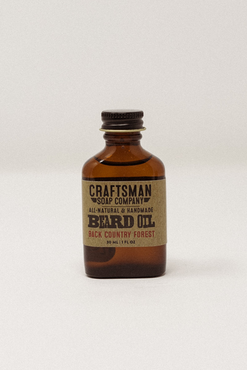 Backcountry Forest Beard Oil