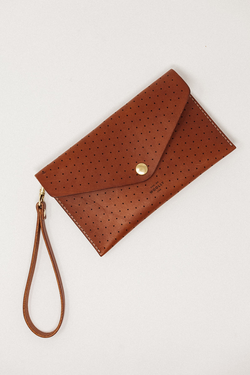 Clutch Wallet Brown