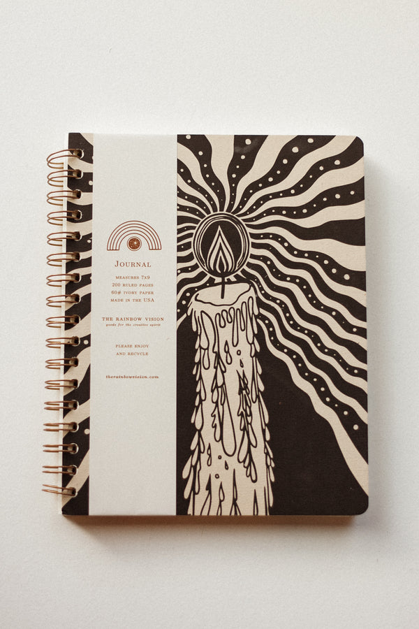 Candlelight Journal Black