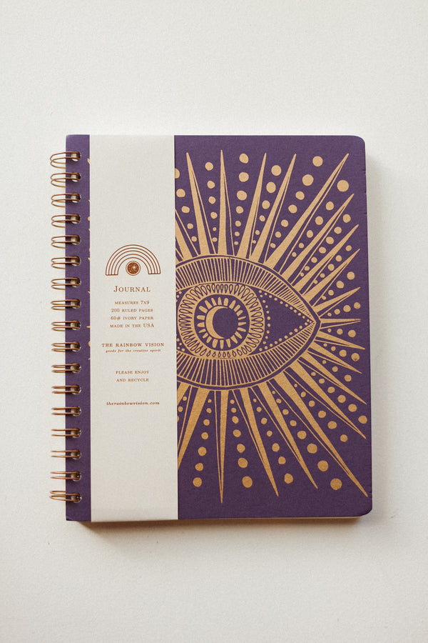Seeing Eye Journal Purple