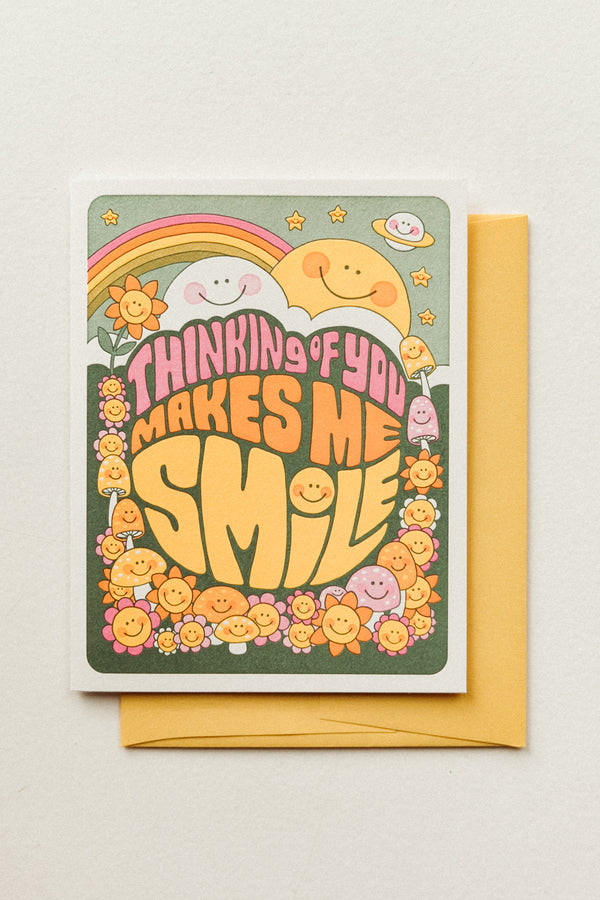 Makes Me Smile Card