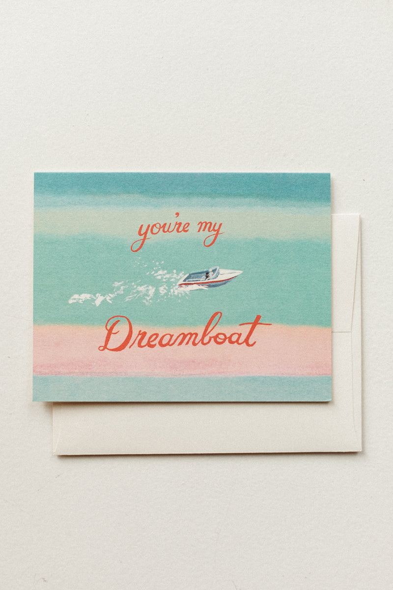 My Dreamboat Card