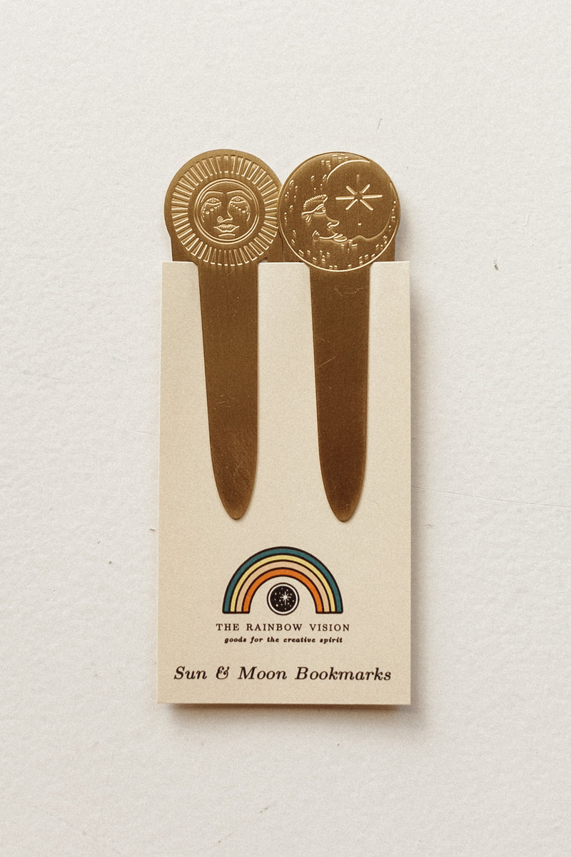 Sun and Moon Bookmarks