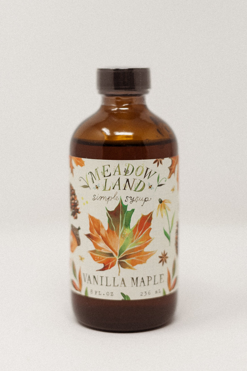 Vanilla Maple Simple Syrup