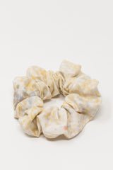 Neutral Bird's Eye Double Gauze Scrunchie