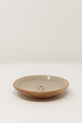 Stoneware Incense Holder Celadon