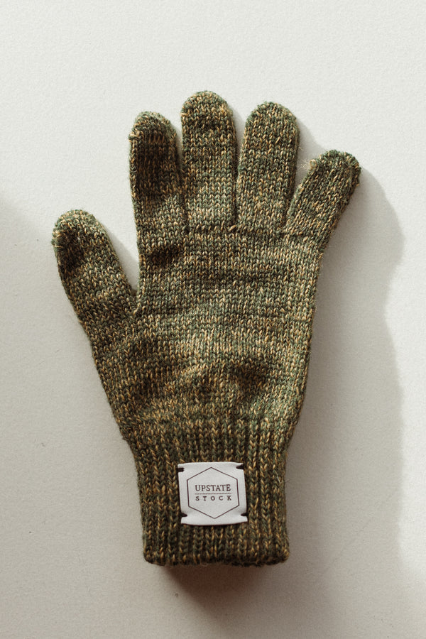 Ragg Wool Glove Jungle Melange