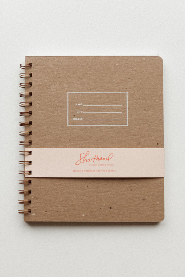 Standard Notebook Kraft Lined