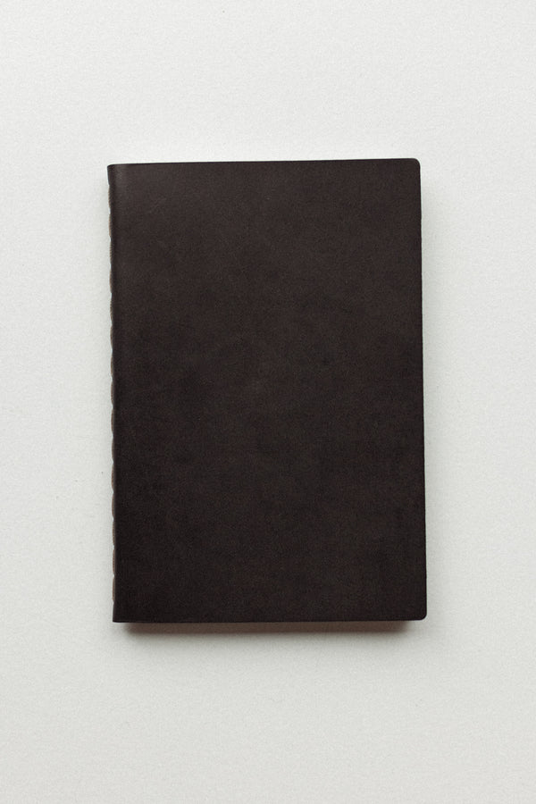 Leather Notebook Black