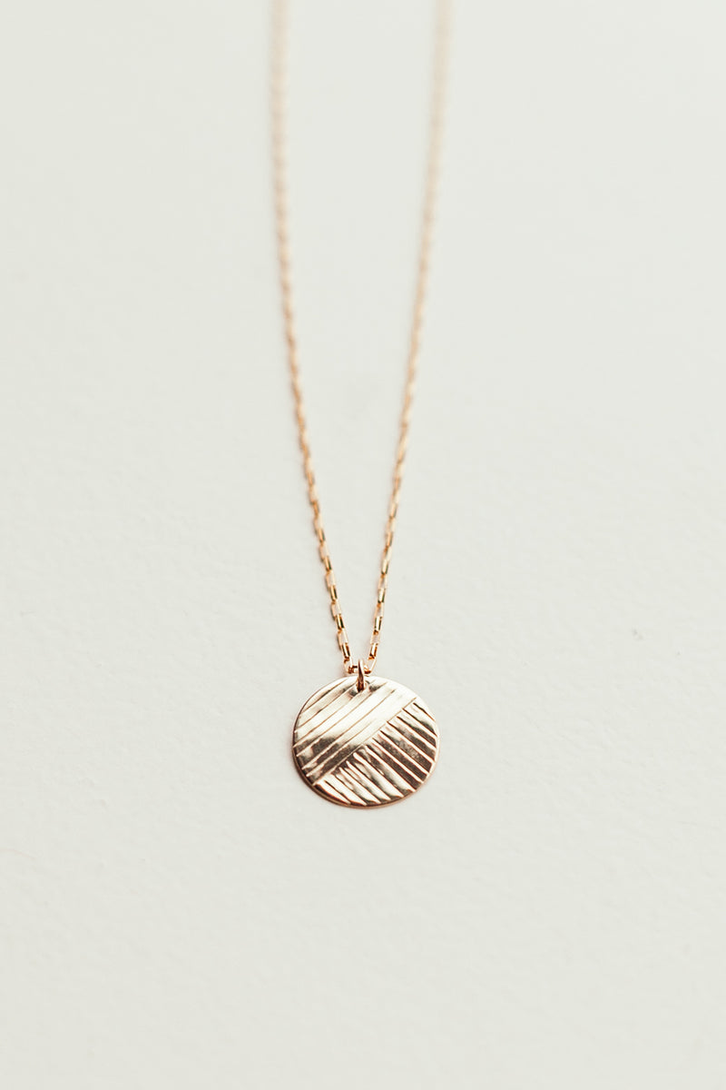 Flow Coin Necklace
