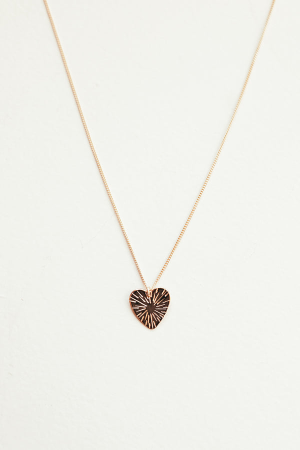Heart Burst Necklace