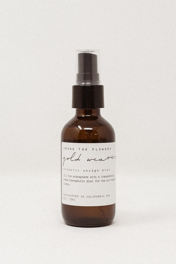 Gold Weaver Aromatic Smudge Mist