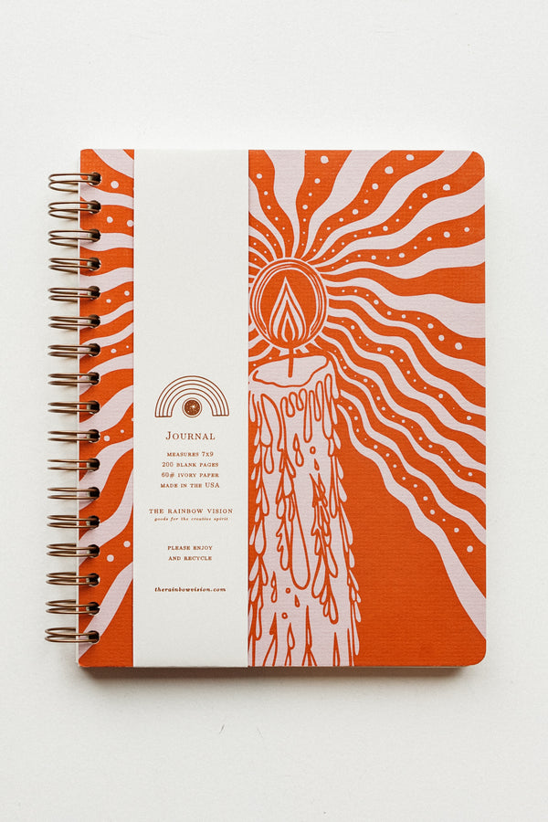 Candlelight Journal Orange