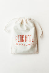 Hear Here Oracle Deck Set