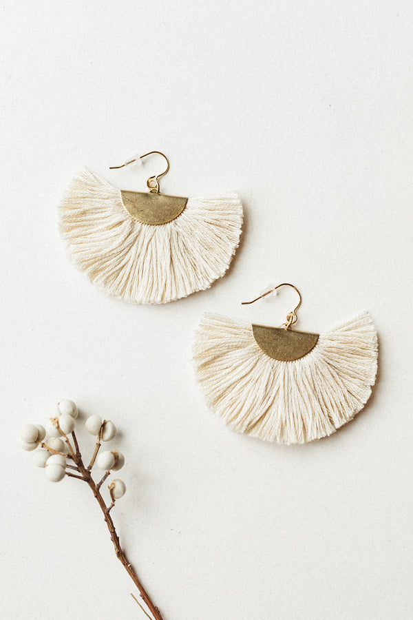 The Maxi Half Moon Earring