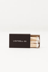 Black Linen Matchbox
