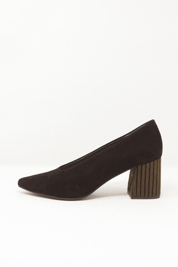 Make An Entrance Heel Black/Olive