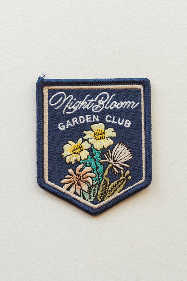 Night Bloom Garden Patch