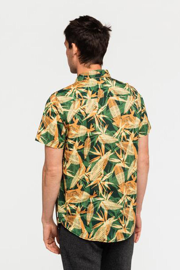 Void Short Sleeve Shirt Deep Forest