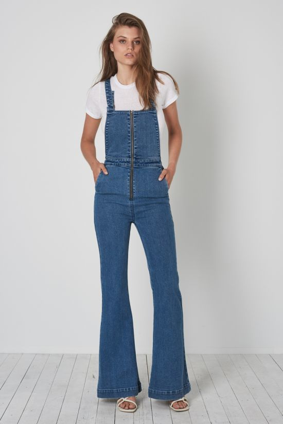 Eastcoast Flare Overall Eco Judy Blue