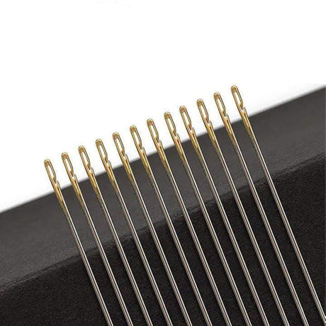 12 Pcs Easy Self-Threading Needles Sewing Needles 200007763:201336106;14:200004890