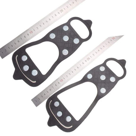 8 Studs Anti-skid Snow Shoe Grippers Insoles