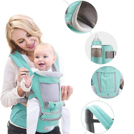 All-In-One Baby Breathable Travel Carrier Backpacks & Carriers