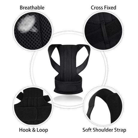 BackPal Pro Full Back Support and Posture Corrector Braces & Supports