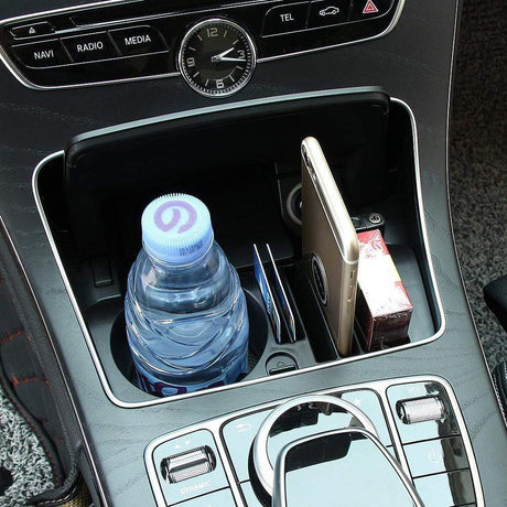 Car Central Storage Box For Mercedes Benz C Interior Mouldings