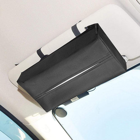 Convenient Car Tissue Box Leather Cover Tissue Boxes