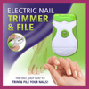 Electric Nail Trimmer & File Hand Tool Sets