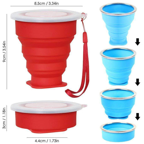 Foldable Snack Cup Coffee Cups & Mugs